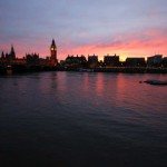 London Artistic Sunset